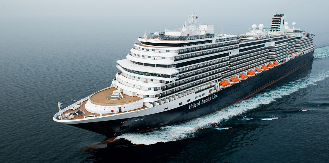 Koningsdam at Sea