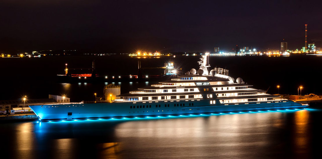 The Largest Superyacht in the World