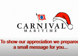 Christmas Greetings From Carnival Maritime